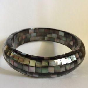 Jewelry - Abalone Shell Bangle Bracelet